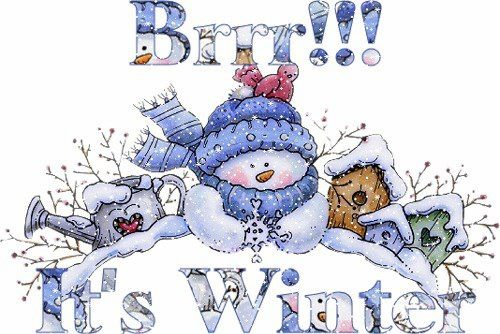 brrr it is winter time