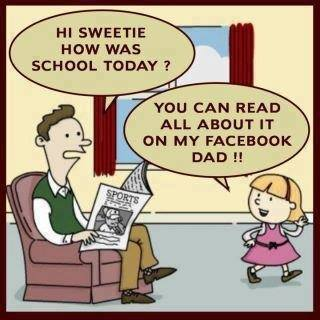face book dad