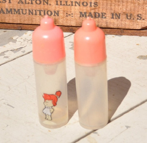 retro bottles