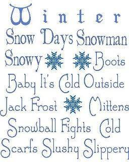 winter saying