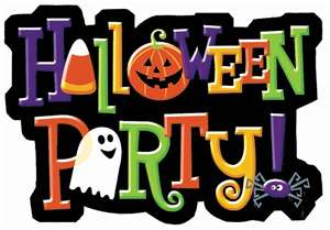 Hallowen Party sign