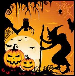 halloween silohetes