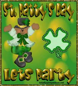 st pattys day lets party