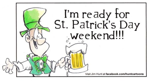 st paty weekend